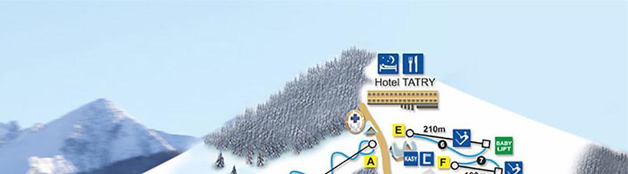 Małe Ciche - Wyciągi narciarskie i trasy zjazdowe w Małym Cichym