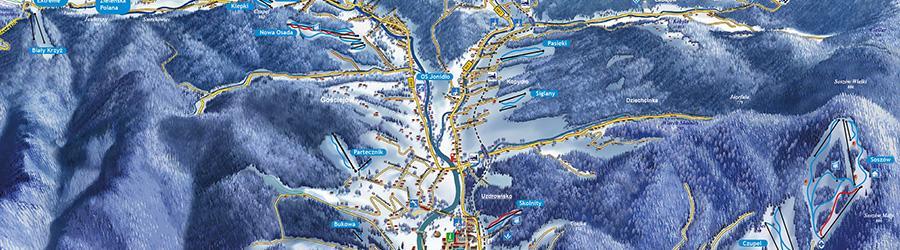 Wisła - Wyciągi narciarskie i trasy zjazdowe w Wiśle