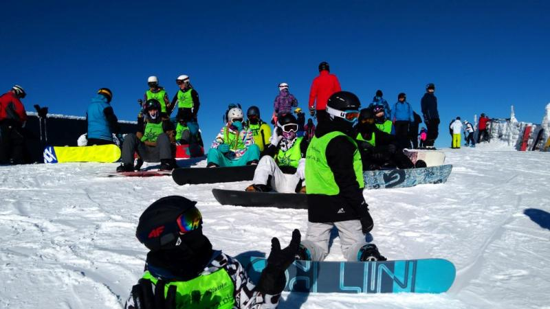 Snowboardowe zimowe szaleństwo - młodzieżowy obóz na Słowacji - Skipass w cenie!