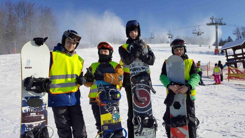 Zimowisko narciarsko-snowboardowe dla jeżdżących